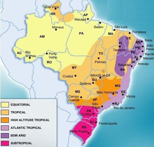 Brazil Climate Worldpress