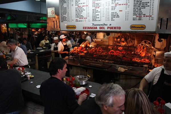 Uruguay Voyage marché du port