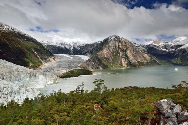 Voyage Chili fjord Pia