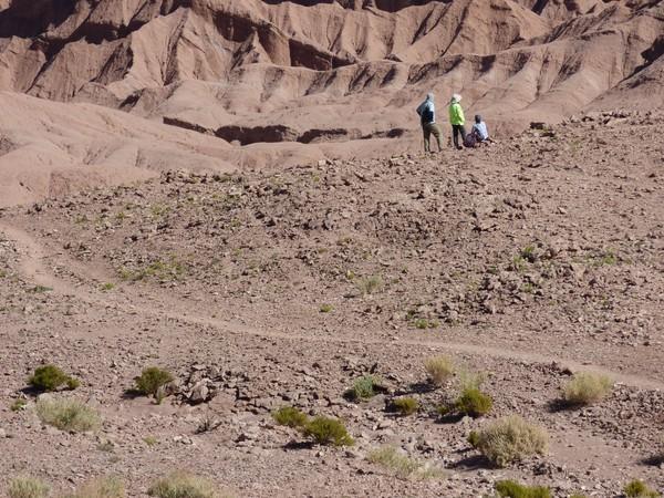 Chilie Voyage Atacama vue sur l'arena de la vallée de la mort