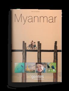 Brochure de voyage au Myanmar