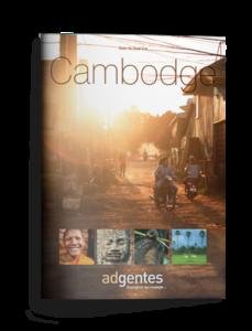 Brochure de voyage au Cambodge