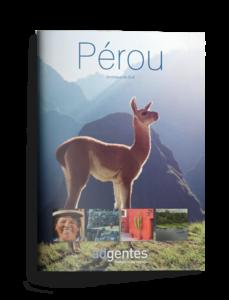 Brochure de voyage au Pérou
