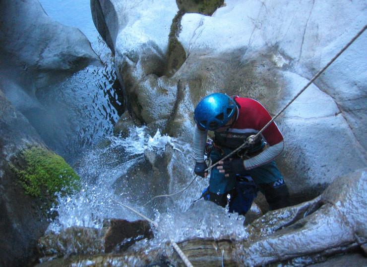 Canyoning à la Réunion
