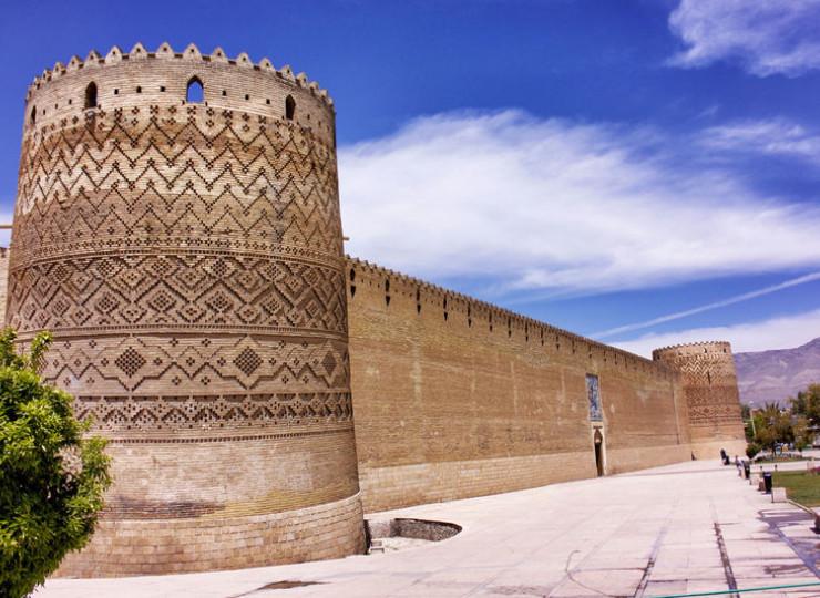 La citadelle de Karim Khan à Chiraz