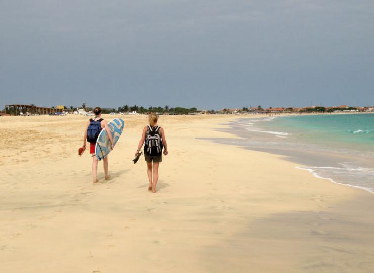 Les plages de Sal