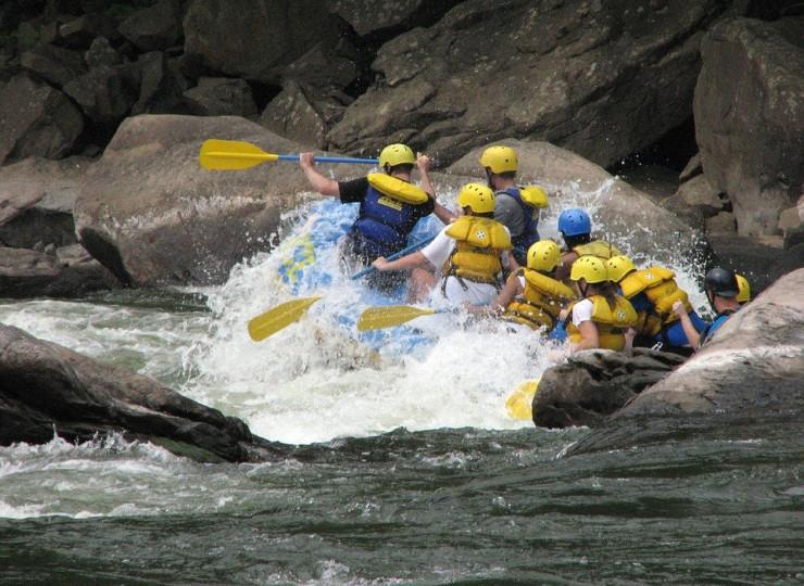 Rafting à la Réunion