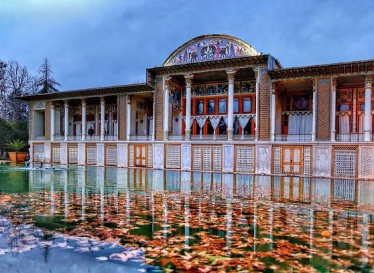 Le palais royal du jardin Afif-Abad
