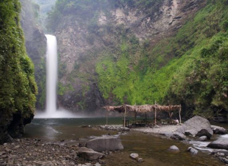 Voyage Asie Philippines cascade