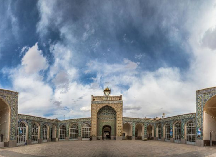 La grande mosquée de Kerman