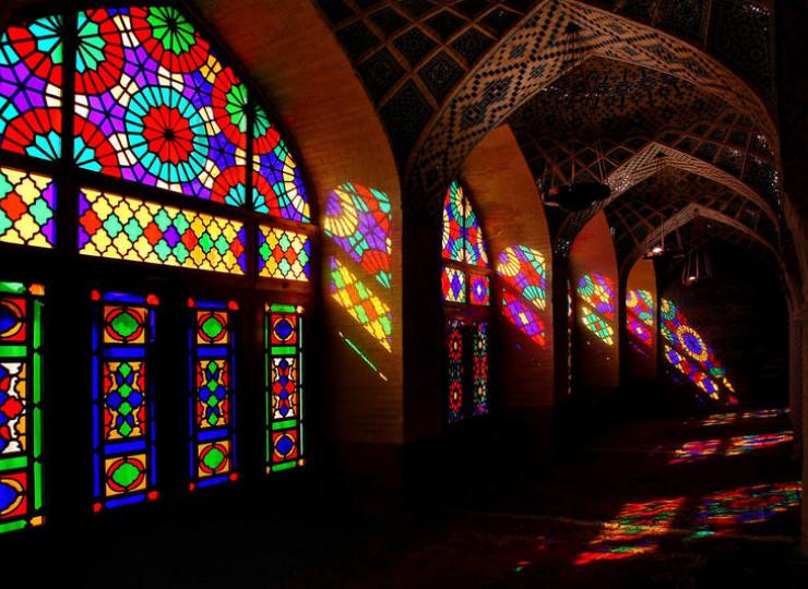 La mosquée Nasir-ol-Molk de Chiraz