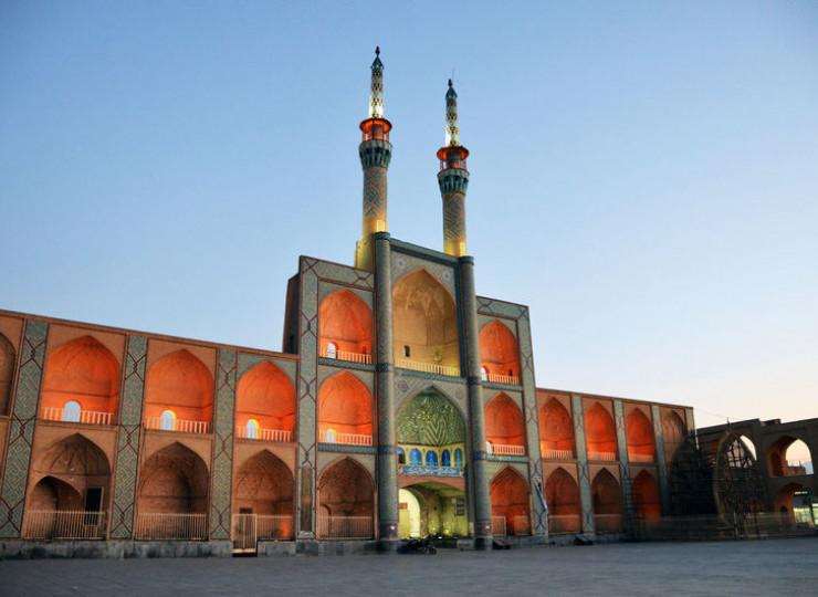 Le complexe d'Amir Chakhmaq