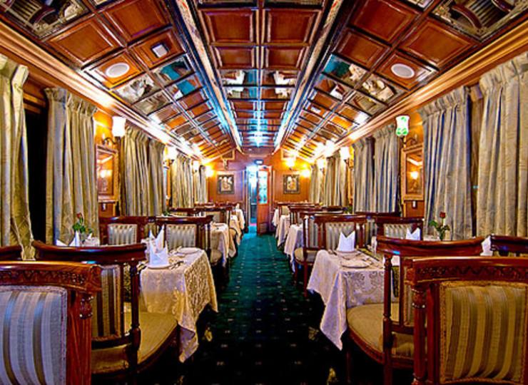Palace on Wheels - Train de luxe