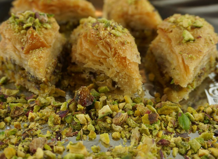 Les pâtisseries iraniennes