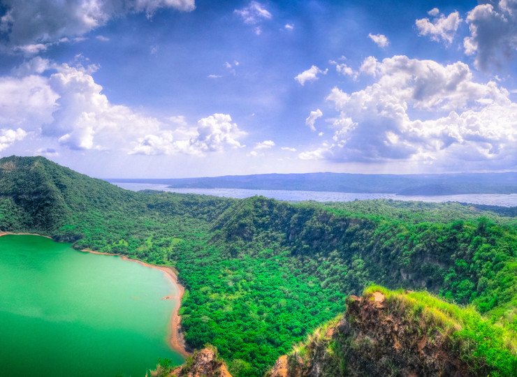 Voyage Philippines Volcan Lac Taal