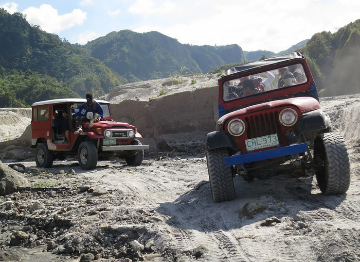Voyage asie Philippines Volcan Pinatubo
