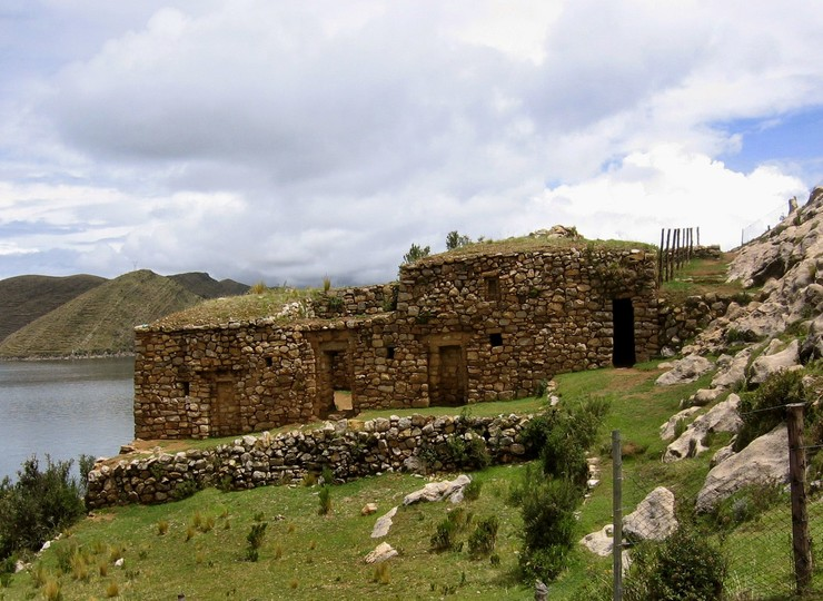 Voyage Bolivie Ile du Soleil ruines Pilkokaina