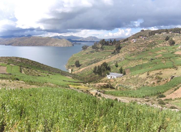 Voyage Bolivie Ile du Soleil baie de Huacani