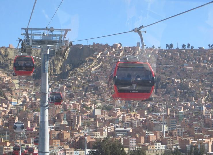 Bolivie Voyage La Paz en téléphérique