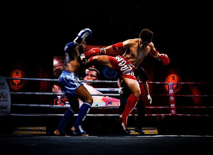 Assistez à un match de boxe thaï
