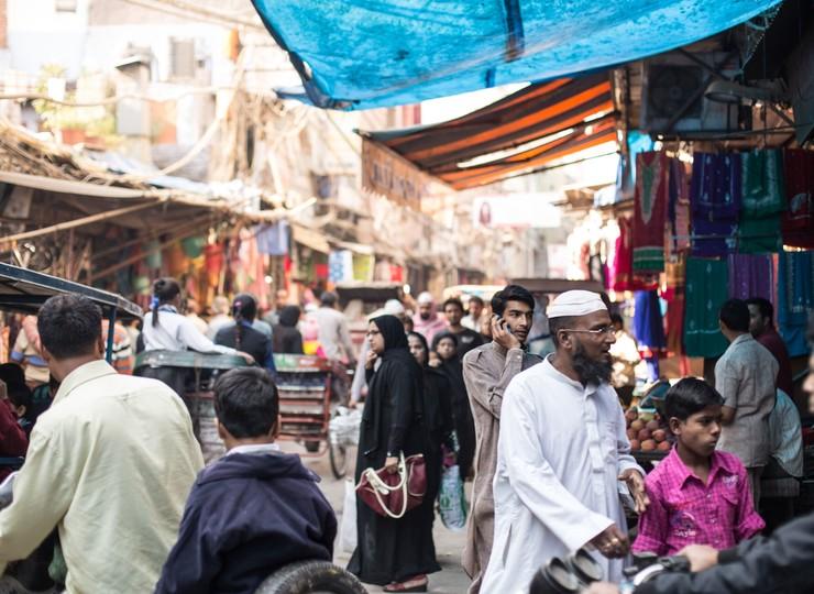 Découverte d'Old Delhi à vélo