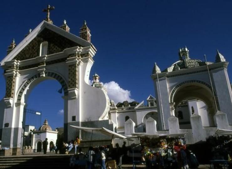 Voyage Bolivie Lac Titicaca Copacabana shrine