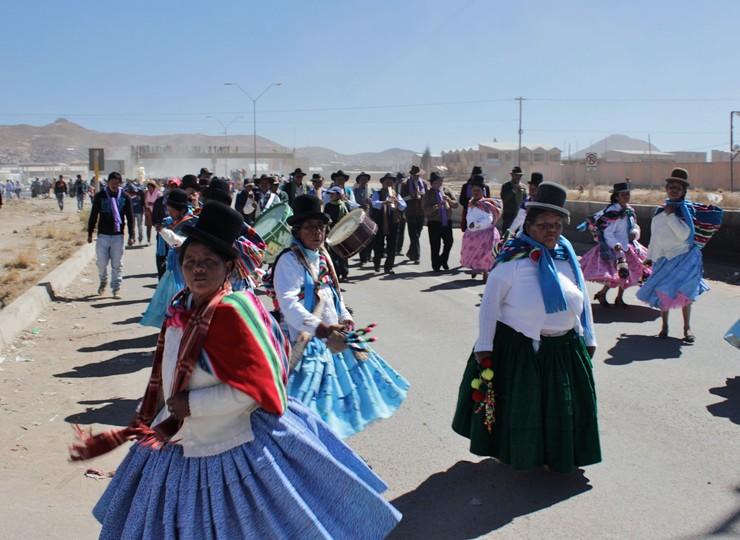 Bolivie Voyage Lac Titicaca Île du Soleil cérémonie dansante