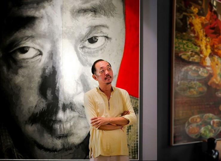 Rencontre avec Mr Theam, un célèbre artiste khmer