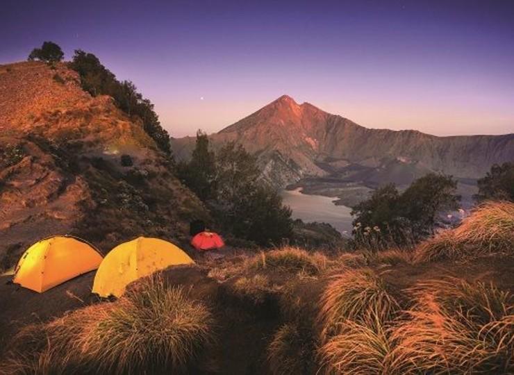 Ascension du volcan Rinjani