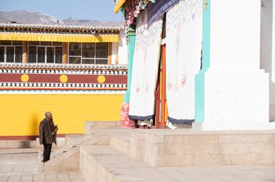 Monastère bouddhiste à Repkong