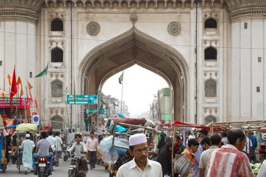 Le charminar d'Hyderabad