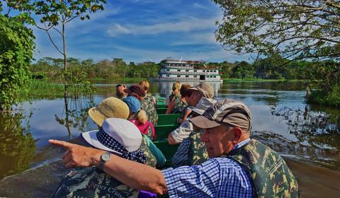 Mercredi, départ de Manaus