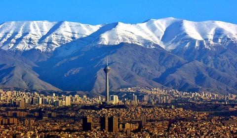 Arrivée Téhéran