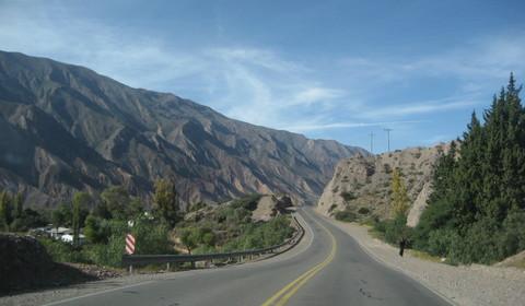 Tilcara - Salta (170 km // 3 heures)