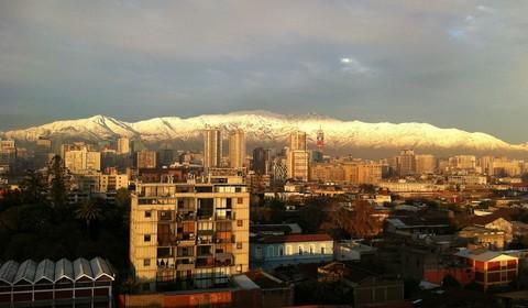 Santiago du Chili, départ