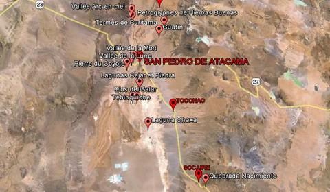 Santiago du Chili - San Pedro de Atacama