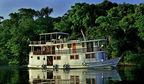 Lundi, départ Manaus sur l'Amazone