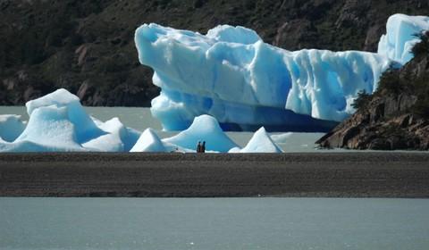 Puerto Natales : Glaciers Serrano et Balmaceda