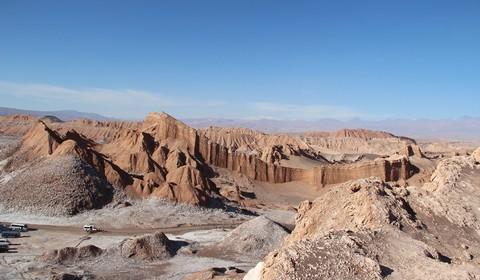 Calama  - San Pedro de Atacama, Vallée de la Lune