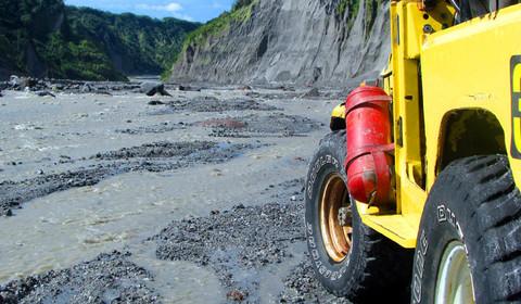 Manille / Clark - Mt Pinatubo - Clark