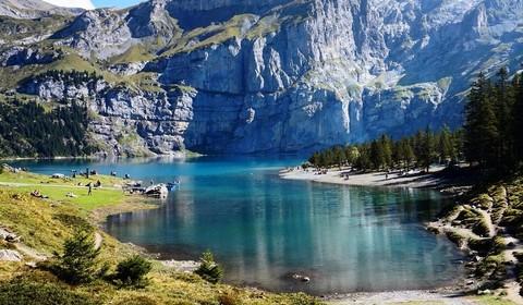 Excursion à Kandersteg et lac d'Oechinensee