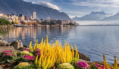 Arrivée à Montreux
