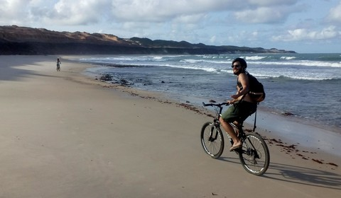 Excursion depuis Pipa : Tibau do sol en VTT