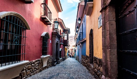 La Paz, départ/retour