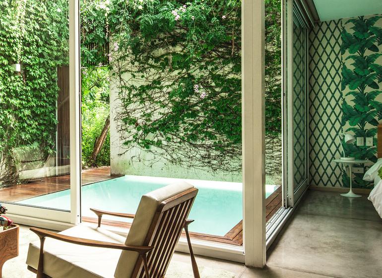 Argentine Voyage Buenos Aires Home Hotel Garden Suite
