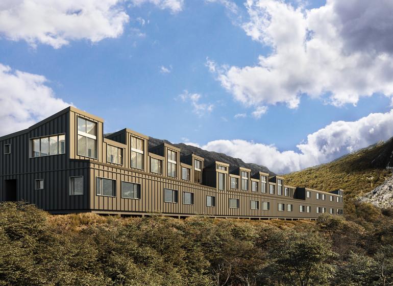 Argentine Voyage Explora El Chalten Lodge exterieur