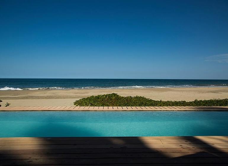 Pérou Voyage Mancora Kichic Hotel piscine