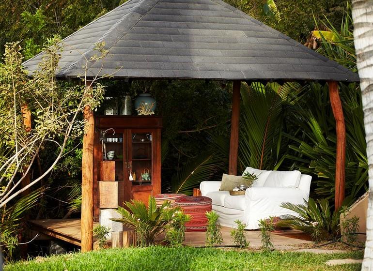 Pérou Voyage Mancora Kichic Hotel pavillon jardin