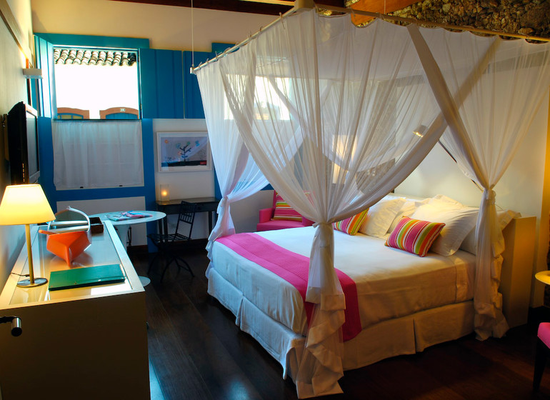 Brésil Voyage Paraty Casa Turquesa suite amarilla