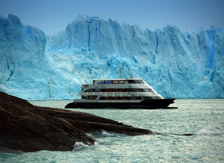 Argentine Voyage Parc National des Glaciers Marapatag cruising